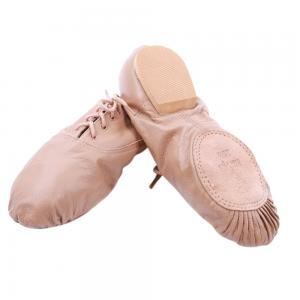 High Quality Split Sole Pigskin Leather Jazz Dance Shoes