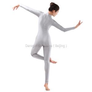 Turtle Neck Long Sleeve Unitard (Ankle Length)