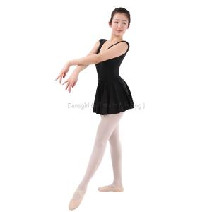 Cap Sleeve Leotard with Removable Skirt