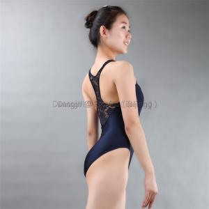 Tank Leotard with Lace Front and Back