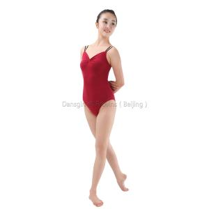 Camisole Leotard with Double Elastic Straps