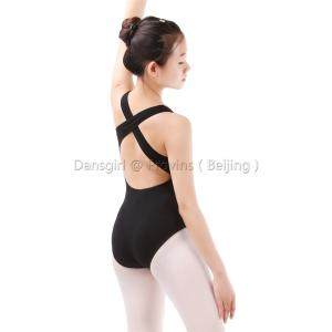 Low and Crisscross Back Tank Leotard