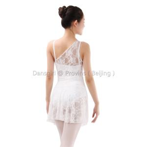 Camisole Leotard with Lace Skirt