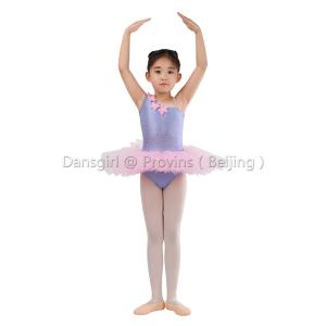 One Shoulder Leotard With Pancake Tutu