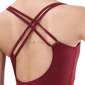 New Adult Double Straps Crisscross Back Leotard