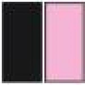 A(Black)+B(Light Pink)