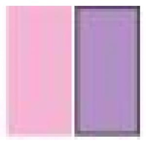 A(Light Pink)+B(Light Grape Purple)