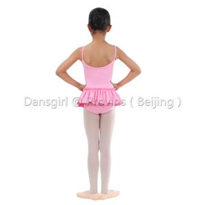 2018 New Kids Rabbit Style Camisole Leotard with Skirt