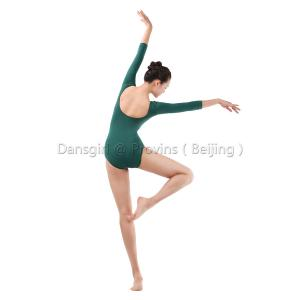 Adult 3/4 Sleeve Pinch Front Leotard