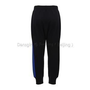 Harem Pants with Contrast Sides
