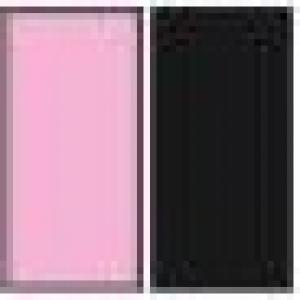 A(Light Pink)+B(Black)