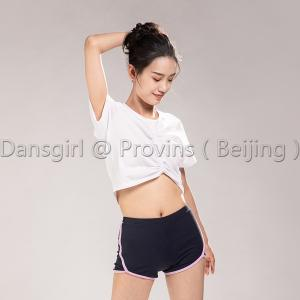 Drawstring Front Short Sleeve Top