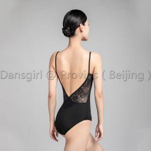Camisole Leotard With Crisscross D Lace Back