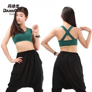 X Back Crop Top