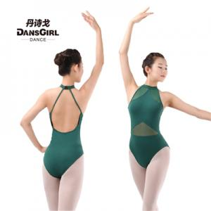 Turtle Neck Seamless Leotard