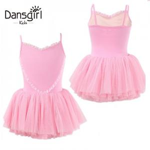 Child Camisole Leotard with Tutu Skirt