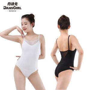 Camisole Leotard with Mesh Front/Back