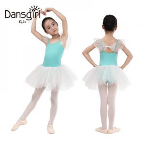 Child Fairy Sleeve Leotard With Princess Tutu