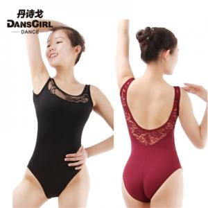 Lace Sleeveless Leotard