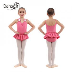 New Kids Rabbit Style Camisole Leotard with Skirt