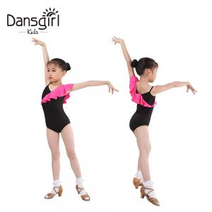 New Child Ruffle Decorated Camisole Leotard