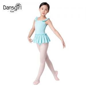 Square Neck Leotard with Skirt