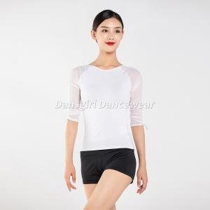 Long Mesh Sleeve Dance Top