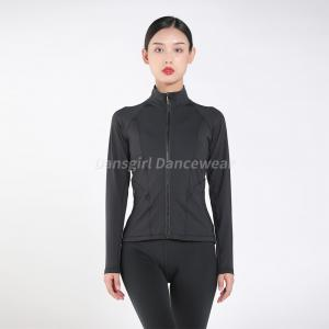 Zip Fornt Long Sleeve Jacket