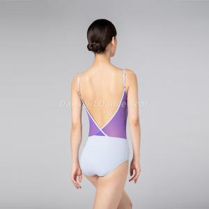 V Front Open Back Camisole Leotard