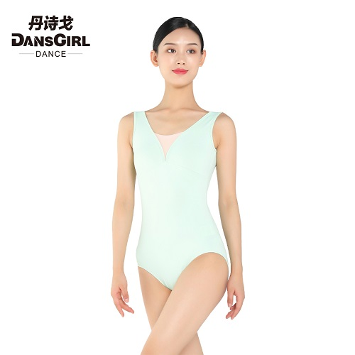V Neck Tank Leotard