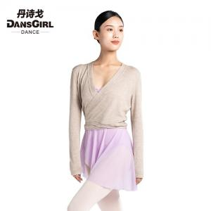 Overlap Front Long Sleeve Top