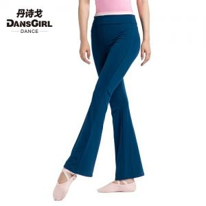 Roll Down Waist Long Pants